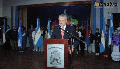 Stroeder conmemor� el 205 aniversario del primer gobierno Patrio