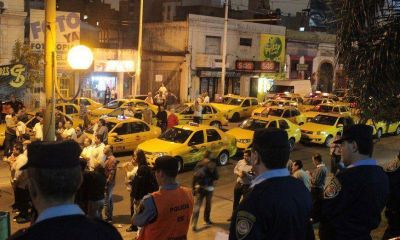 Intensifican controles (en el centro) pero siguen robos a los taxistas