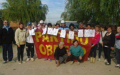 El Partido Obrero celebró el Día de la Patria con vecinos en Hernández y Berisso