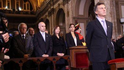 Macri criticó a la presidente por no ir al Tedeum en la Catedral