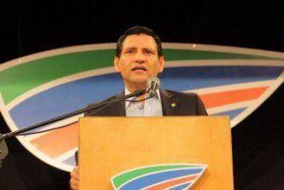 Mongeló agradeció a toda la militancia de Crecimiento por el esfuerzo y trabajo realizado en estas PASO