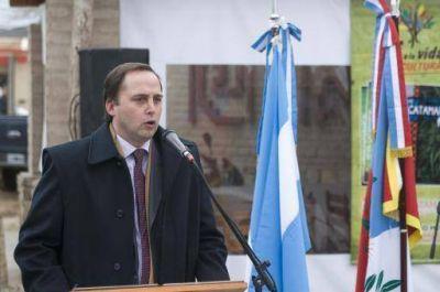 El vicegobernador de la provincia Dalmacio Mera se encuentra participando en los diversos actos que se realizan con motivo del 205º aniversario de la Revolución de Mayo