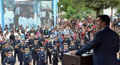 Sentido homenaje a los próceres que forjaron la Patria en Tres Isletas