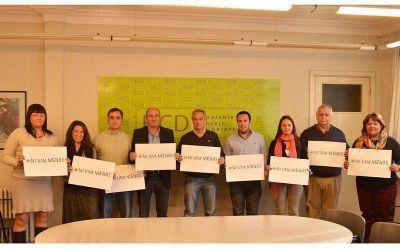 Eseverri y el HCD mostraron su adhesión conjunta a #NiUnaMenos