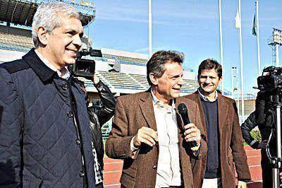 Pulti eligió candidato a gobernador y ya hace campaña con Domínguez