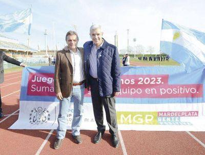 Pulti anunci� su apoyo a la candidatura de Juli�n Dom�nguez en la Provincia