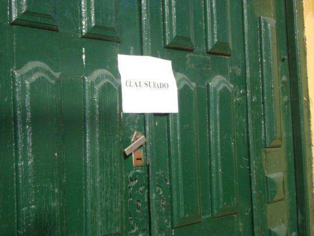 Clausuran el Salón Balcarce por deterioros edilicios