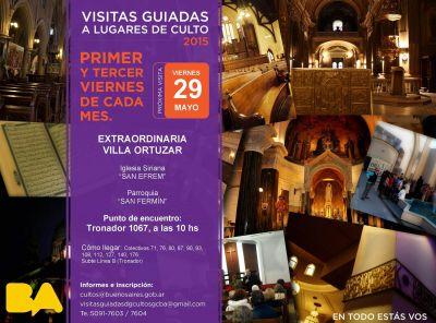 Visita guiada a lugares de culto de Villa Ortúzar