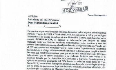Pinamar: Escándalos sin tregua: Mayores Contribuyentes indignados con Elizalde