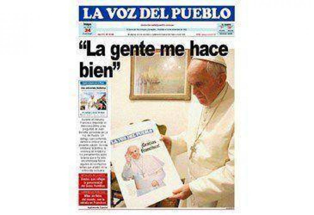 El Papa Francisco explica por qué necesita que la gente rece por él