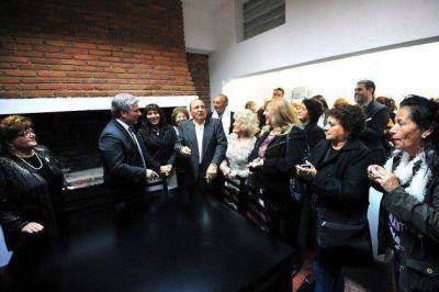 Poggi inaugur� la residencia transitoria del Centro de Jubilados y Pensionados provincial