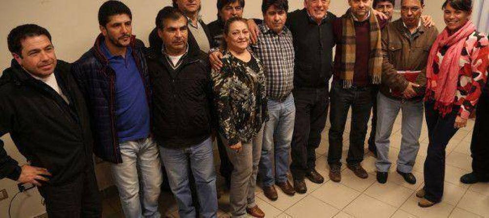 Sciurano participó del debate organizado por la Mesa Sindical