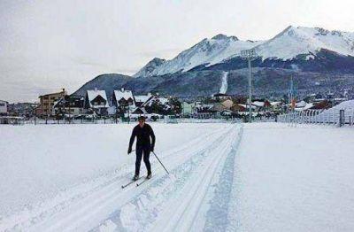 Una alternativa en el centro de Ushuaia para el esquí de fondo