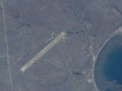 Proyecto para establecer de uso público el aeropuerto de Lewis en Sierra Grande