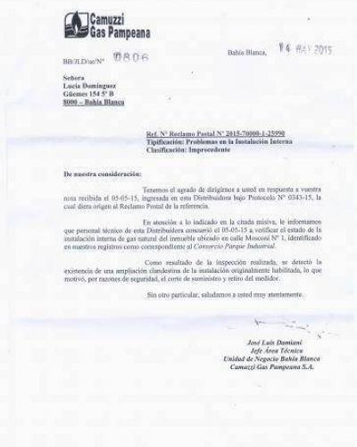Concejo: piden citar al Presidente del Parque Industrial y al responsable de Camuzzi