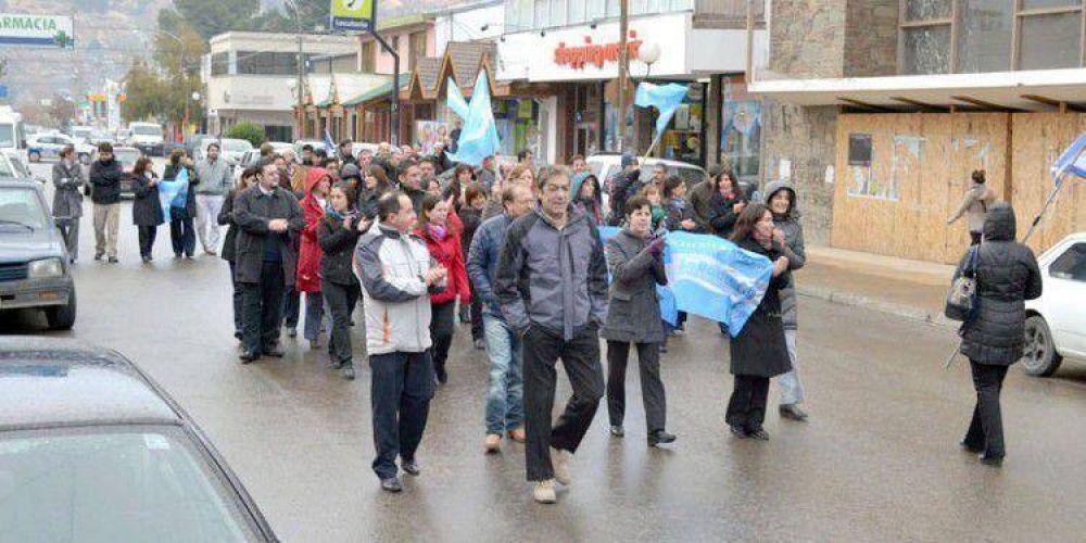 CON MANIFESTACIÓN EN LAS CALLES: Bancarios cumplieron segundo día de protesta