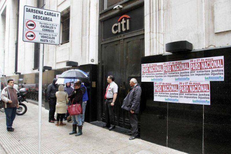 Tras el paro, la Asociación Bancaria presentará una nueva propuesta salarial