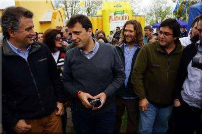 Finalmente Sergio Massa no estar� en Azul; s� en las vecinas ciudades de Tandil y Olavarr�a