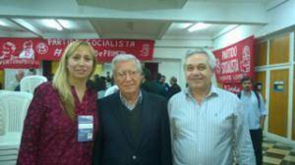Eduardo Lapenta participo del V Congreso Socialista