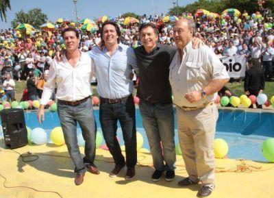 Macri, cerca de recaudar $2 millones en San Juan