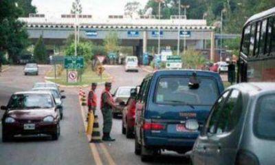 Iguazú: Migraciones aclara sobre medida de fuerza de taxistas y remiseros