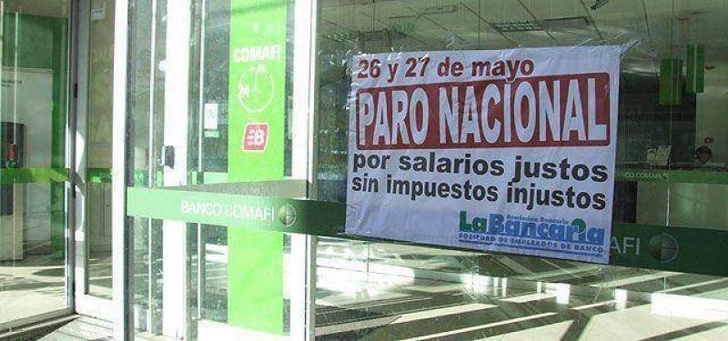 El impacto del paro bancario en la Región