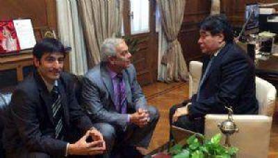 Calcabrini y Ordoqui se reunieron con Zannini en la Casa Rosada