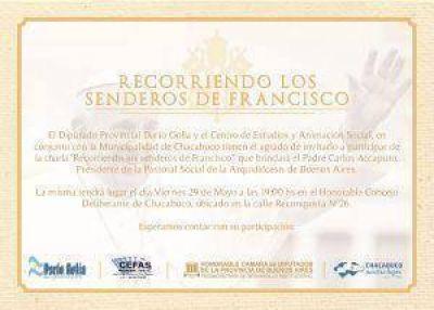 El P. Carlos Accaputo dará una charla en Chacabuco