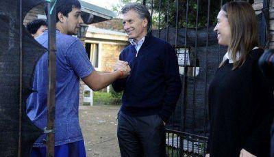 """MACRI: """"SOY EL CANDIDATO DE LOS QUE CREEN QUE SE PUEDE ESTAR MEJOR"""""""