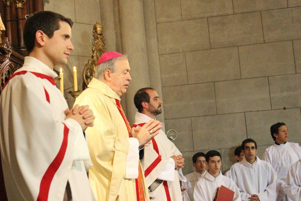 La Iglesia de Mar del Plata cuenta con dos nuevos y jóvenes diáconos