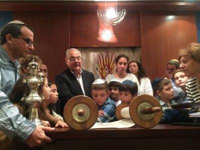 Con jornadas para los chicos, la comunidad judía de Lima festejó Shavuot en sus tres sinagogas