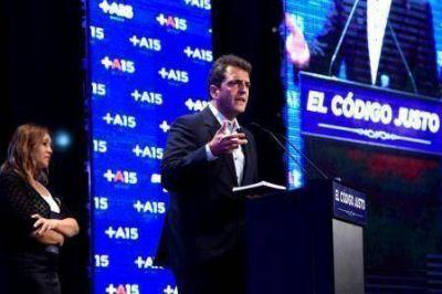 Massa present� su futuro C�digo Penal para �terminar con los jueces garantistas que benefician a delincuentes�