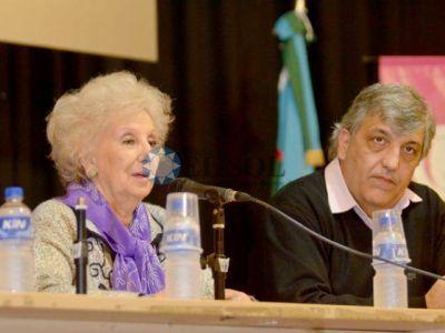 UNQ: Estela de Carlotto presentó dos libros