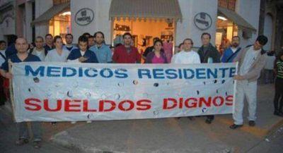 Residentes m�dicos profundizar�n sus reclamos a Salud