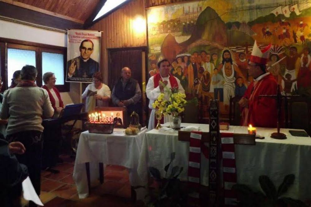 Una capilla en Uruguay ya lleva el nombre del beato Romero