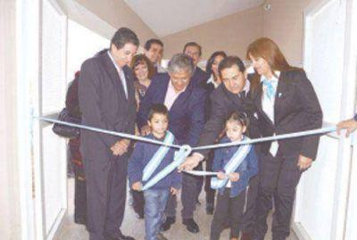 Inauguraron nuevo Jard�n de Infantes en el barrio Nueva Rioja