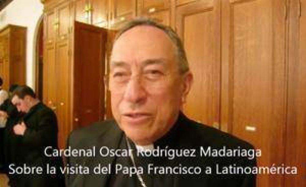 Card. Rodríguez Madariaga habla sobre #FranciscoenLatinoamérica