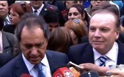 Othacehé en su regreso al FpV apoyó la candidatura de Scioli