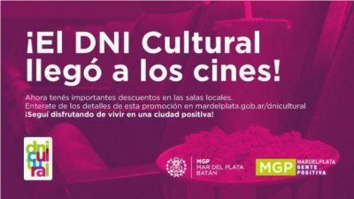 El DNI Cultual lleg� a los cines con descuentos