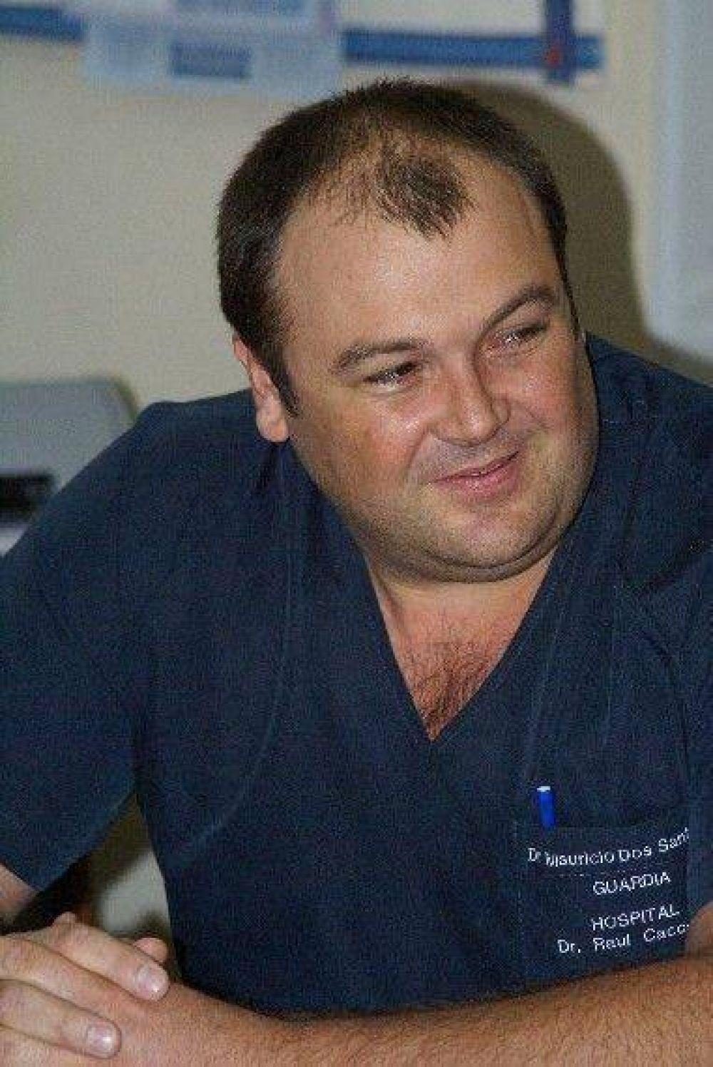 El Secretario de Salud respaldó la decisión para que el Dr. Juan Carlos Battista se haga cargo del Servicio de Cardiología del Hospital Municipal.