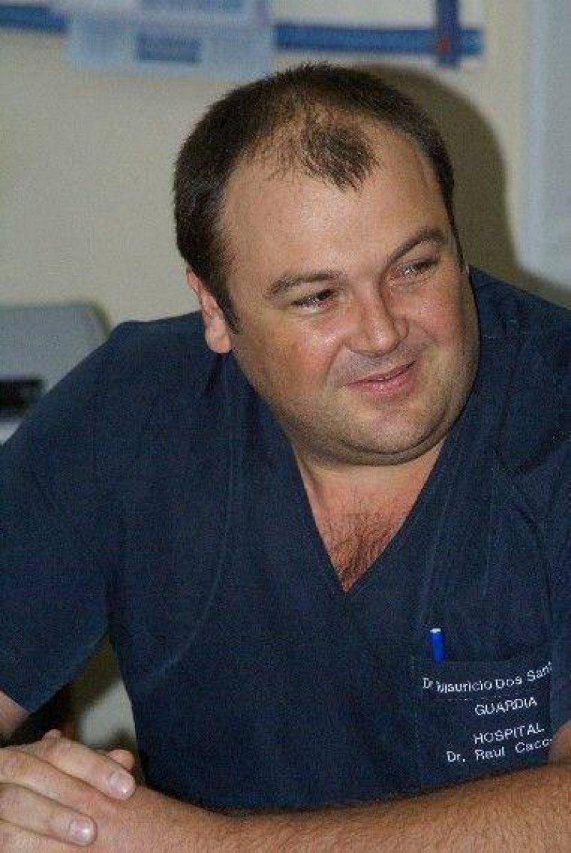 El Secretario de Salud respald� la decisi�n para que el Dr. Juan Carlos Battista se haga cargo del Servicio de Cardiolog�a del Hospital Municipal.