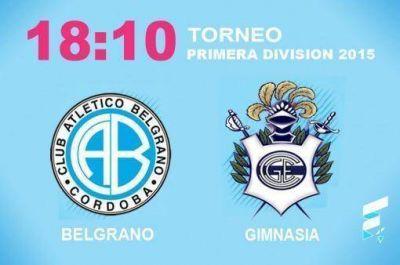 Belgrano desea volver a la senda victoriosa ante un Gimnasia en racha