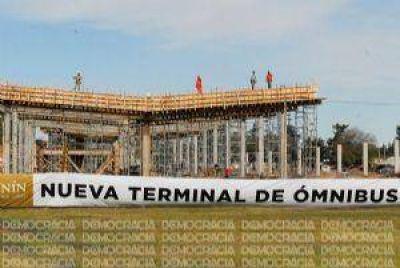 Con la nueva terminal, ingresarán al menos otras siete líneas de colectivos