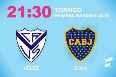 Boca quiere recuperar la punta en su visita a Vélez en Liniers