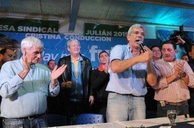 """Domínguez se comprometió ante sindicalistas """"a continuar con la defensa del trabajo"""""""