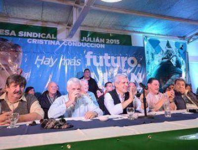 Domínguez se hace fuerte en la Provincia