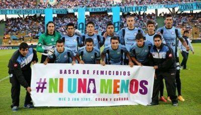 #NiUnaMenos: Belgrano se sumó a la campaña contra los femicidios