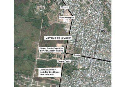 Replantean el plan de obra del futuro campus de la Uader
