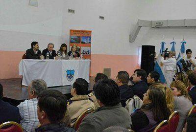 Nuevo núcleo educativo para Puerto Santa Cruz