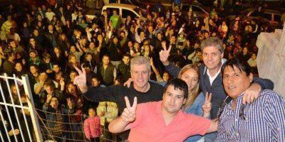 Concurrida inauguraci�n de agrupaci�n que apoya a Carlos Eliceche para la intendencia de Madryn